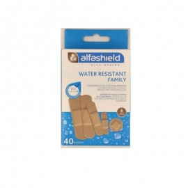 Alfashield Water Resistant Strips Family 5 Μεγέθη 40τμχ