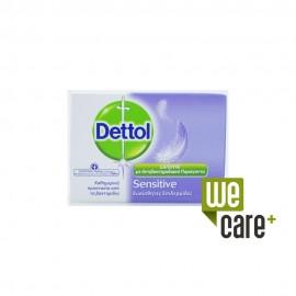 Dettol Sensitive Αντιβακτηριδιακό Σαπούνι για Ευαίσθητες Επιδερμίδες 100g