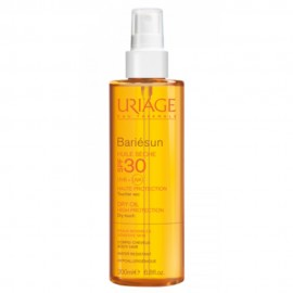 Uriage Bariesun SPF30 Huile, Αντηλιακό Λάδι 200 ml
