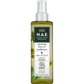 N.A.E. Leave-in Spray Conditioner για επανόρθωση, Οργανική Πιστοποίηση COSMOS  & Vegan φόρμουλα, 200 ml