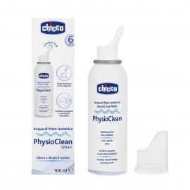 Chicco Physioclean Spray, Ισοτονικό Θαλασσινό Νερό σε Σπρέι 6m+ 100ml