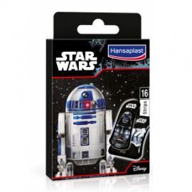 Hansaplast 16 Παιδικά Αυτοκόλλητα Strips με Φιγούρες Star Wars