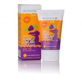 Helenvita Sun Baby Cream SPF50 Βρεφικό Αντηλιακό για Πρόσωπο/Σώμα 100ml