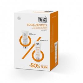 Roc Promo Soleil-Protect Quenching Nourishing Cream SPF50+ 50ml & Hydra+ Light Cream 40ml