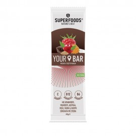 Superfoods Your Bar Μπάρα Cranberry με Στέβια 45gr
