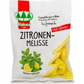Kaiser Zitronen Melisse Καραμέλες για το Βήχα με Μελισσόχορτο & 13 Βότανα 60gr