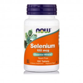 Now Foods Selenium 100mcg Σελήνιο 100Tabs