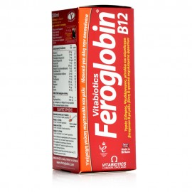 Vitabiotics Feroglobin B12 Liquid, Συμπλήρωμα Σιδήρου για Ενήλικες & Παιδιά 200ml