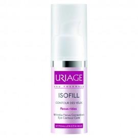 Uriage Isofill Focus Rides Yeux, Αντιρυτιδική Κρέμα Ματιών 15ml