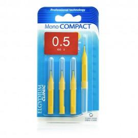 Elgydium Clinic Monocompact, Μεσοδόντια Βουρτσάκια 0.5mm 4τμχ