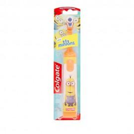 Colgate Minions Παιδική Ηλεκτρική Οδοντόβουρτσα Πορτοκαλί Πολύ Μαλακή 1τμχ