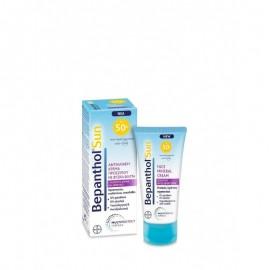 Bepanthol Sun Face Mineral Cream Sensitive Skin SPF50+ Αντηλιακή Προσώπου 50ml