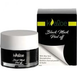 Kaloe Black Mask Peel Off, Μαύρη Μάσκα Aπολέπισης 50ml