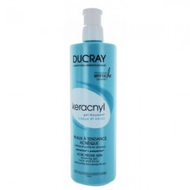 Ducray Keracnyl Gel Moussant Myrtacine, Καθαριστικό Προσώπου-Σώματος με Τάση Ακμής 400ml