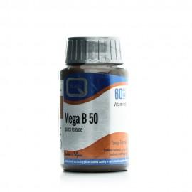 Quest Mega B-50 Quick Release, Σύμπλεγμα Βιταμινών B 60Tabs