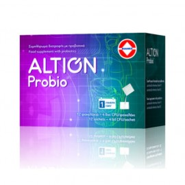 Altion Probio Προβιοτικό Συμπλήρωμα Διατροφής για τις Γαστρεντερικές Διαταραχες, 12 φακελάκια
