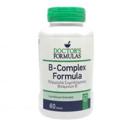 Doctors Formulas B Complex, Σύμπλεγμα Βιταμινών Β 60 Δισκία