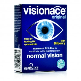 Vitabiotics Visionace, Συμπλήρωμα Διατροφής για τη Διατήρηση της Καλής Όρασης 30Tabs