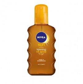 Nivea Sun Tanning Oil Spray Λάδι Μαυρίσματος 200ml