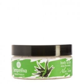 SempreViva Body Scrub Aloe Vera, Απολεπιστικό Σώματος Αλόη 200gr