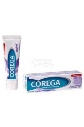 Corega Neutral Στερεωτική Κρέμα Οδοντοστοιχιών 40gr