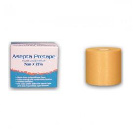 Asepta Pretape Foam Underwrap Αφρώδης Επίδεσμος Προστασίας (Αράχνη) 7cmx27m 1τμχ