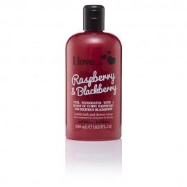 I love Bubble Bath & Shower Creme, Αφρόλουτρο  Raspberry & Blackberry 500ml