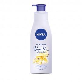 Nivea Oil in Lotion Vanilla & Almond Oil Κανονικές/Ξηρές Επιδερμίδες 200ml