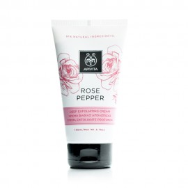 Apivita Rose Pepper Deep Exfoliating Cream Κρέμα Βαθιάς Απολέπισης, 150 ml