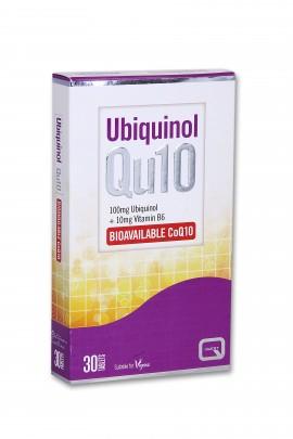 Quest Ubiquinol Qu10 100mg & B6 10mg, 30tabs