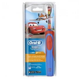 Oral B Vitality Kids Stages Power, Ηλεκτρική Οδοντόβουρτσα Cars για Αγόρι 3 Ετών+