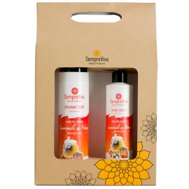 SempreViva Promo Shower Bath Camomile & Honey 400ml & Body Lotion Camomile & Honey 250ml