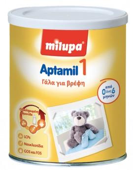 Milupa Aptamil 1 Γάλα για βρέφη από 0 έως 6 μηνών, 400gr