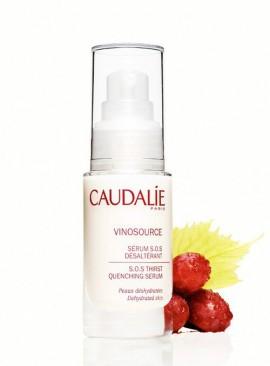 Caudalie Vinosource S.O.S Thirst-Quenching Serum, Ενυδατωση για Αφυδατωμένες Επιδερμίδες 30ml
