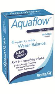 Health Aid Aquaflow Vegetarian Blister, Φυτικό Διουρητικό, 60 Tablets