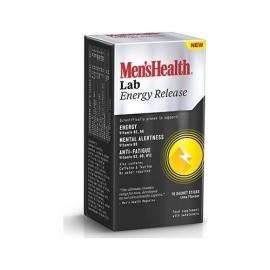Omega Pharma Menshealth Lab Energy Release, Συμπλήρωμα Διατροφής για Τόνωση & Ενέργεια 16 Φακελίσκοι