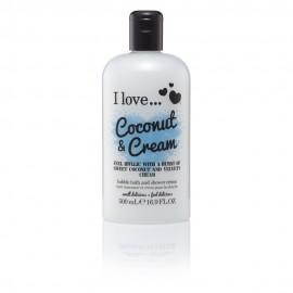 I love Bubble Bath Coconut & Cream 500ml