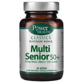 Power Health Classics Platinum Multi Senior 50+ Πολυβιταμινούχο Συμπλήρωμα Διατροφής, 30 Κάψουλες