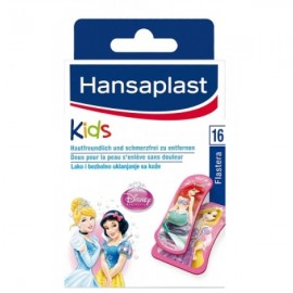 Hansaplast Princess Kids Παιδικά Τσερότα 16Strips
