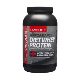 Lamberts Performance Diet Whey Protein + Active Levels of CLA & Green Tea Extract - ΣΟΚΟΛΑΤΑ,1 Kg