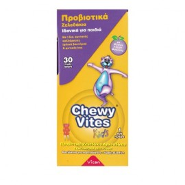 Vican Chewy Vites Kids Προβιοτικά Ζελεδάκια για Παιδιά 30τεμ