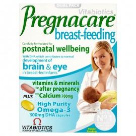 Vitabiotics Pregnacare Breast-feeding, Ενισχυμένη Φροντίδα για την Περίοδο του Θηλασμού 84Tabs/Caps