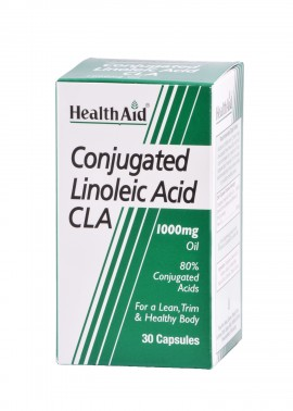 Health Aid Conjugated Linoleic Acid CLA Λινολεϊκό Οξύ 1000mg, 30caps