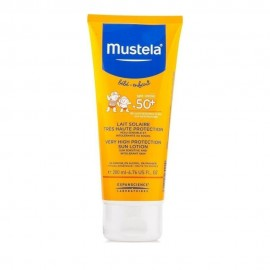 Mustela Very High Protection Sun SPF 50+ Βρεφικό/Παιδικό Αντηλιακό 200ml