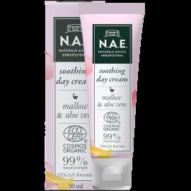 N.A.E Καταπραυντική κρέμα ημέρας για ευαίσθητη επιδερμίδα, Οργανική Πιστοποίηση COSMOS  & Vegan φόρμουλα, 50ml