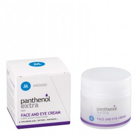 Panthenol Extra Face & Eye, 24ωρη Αντιρυτιδική Κρέμα για Πρόσωπο & Μάτια, με Υαλουρονικό 50ml