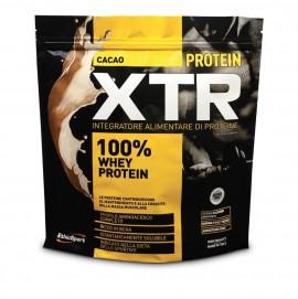 EthicSport Protein XTR Cacao Πρωτεΐνη Ορού γάλακτος, Υψηλής Περιεκτικότητας Λακτοφερίνη, BCAA και B6, 500gr