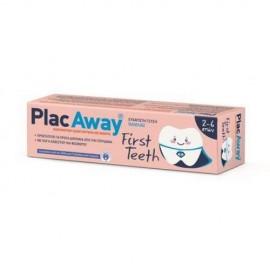 Omega Pharma Plac Away First Teeth, Παιδική Οδοντόκρεμα 2-6 Ετών 50ml