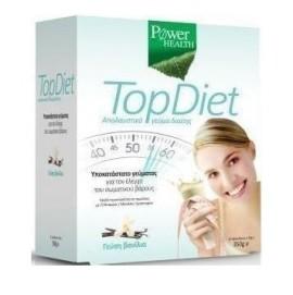 Power Health Top Diet, Υποκατάστατο Γεύματος για τον Έλεγχο Σωματικού Βάρους με Γεύση Βανίλια 350gr