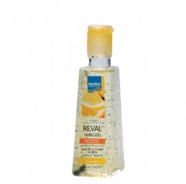 Intermed Reval Plus Antiseptic Hand Gel Lemon Αντιμικροβιακό Τζελ Χεριών 100ml